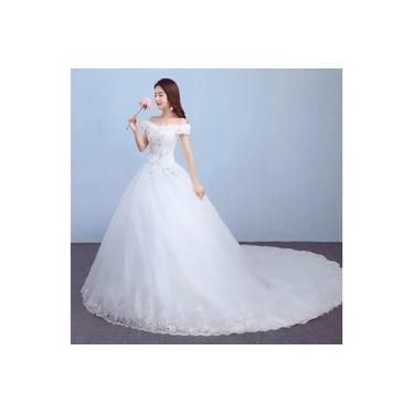 Vestido De Noiva Branco Novo