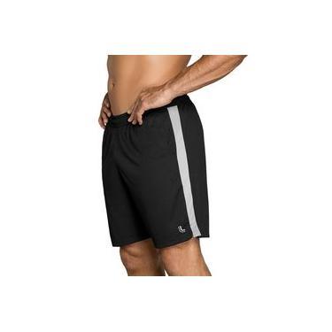 Shorts calção bermuda masculino esporte futebol academia com bolso Lupo 76350