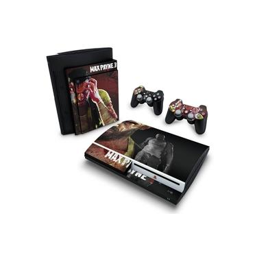 Skin Adesivo para PS3 Fat - Max Payne