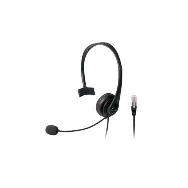 Headset Com Conector Rj09 P/ Telemarketing Multilaser - PH251 Multilaser