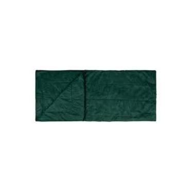 Mor Saco De Dormir Solteiro Camping 192X75 Com Ziper Verde