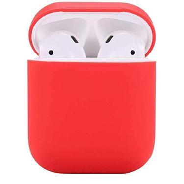 Capa/Case P/Fone Apple Airpods (Vermelho)