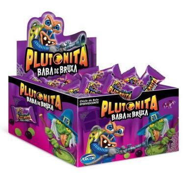 Chiclete Plutonita Baba De Bruxa 40 Unidades - Arcor