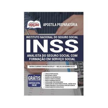 Imagem de Apostila Inss - Analista Do Seguro Social Com Formação