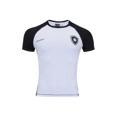 1395b2d037 Camiseta do Botafogo Lude - Masculina - BRANCO PRETO Braziline