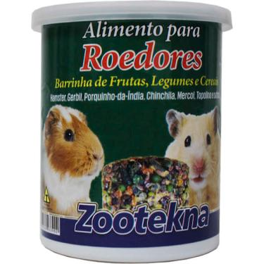 Alimento Zootekna Roedores Mix 2 Unidades - 80 g