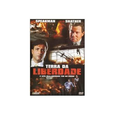 DVD Terra da Liberdade - Jeff Speakman Willian Shatner