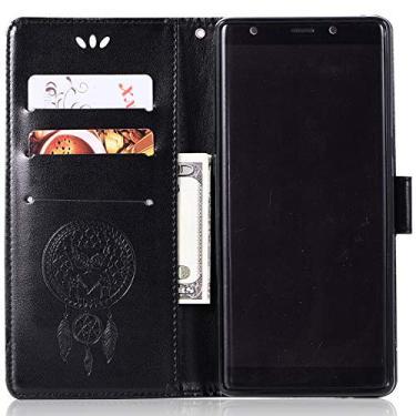 Capa de couro para Samsung Galaxy Note 8, capa carteira para Galaxy Note 8, capa flip floral em couro PU com suporte para cartão de crédito para Samsung Galaxy Note 8 de 6,3 polegadas