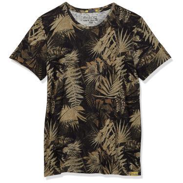 Imagem de Camiseta Linho Estampada, Colcci Fun, Meninos, Preto/Bege/Verde/Rosa/Cinza, 12