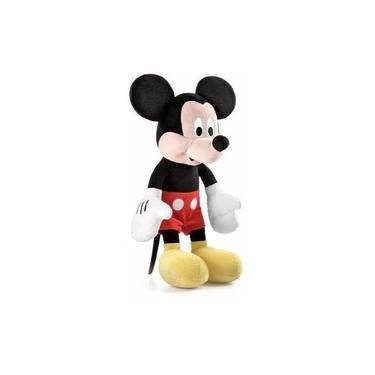 Imagem de Pelucia Mickey Com Som 33 Centimetros Turma Do Mickey