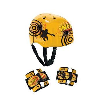 Kit de Proteção Nerf Conthey - Preto/Amarelo