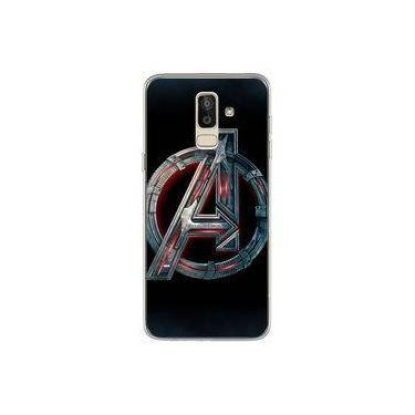 Capa para Galaxy J8 - The Avengers | Os Vingadores Logo 1