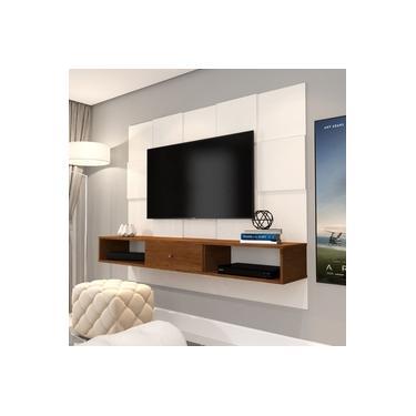 Painel Jb 5025 Luxo Sala Para Tv Até 50 Polegadas