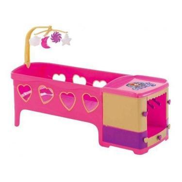 Imagem de Berço Infantil Brinquedo Boneca  Reborn Meg 8101 Magic Toys - Brinqued