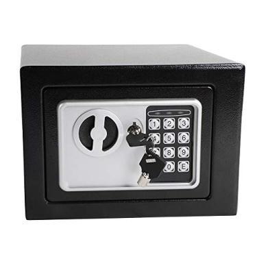 Imagem de Cofre Segurança e Fechadura Eletronica Digital - 23x17cm