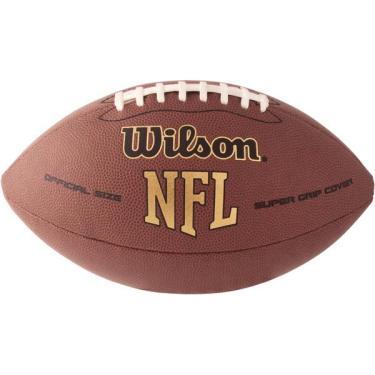 Bola de futebol americano Nfl Super Grip Tradicional Wilson 821ea3220c579