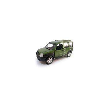 Imagem de Miniatura Nacionais Fiat Doblo Verde Metal 2008 - Maisto