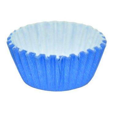 Forminha Forma Papel P/Docinhos Doce N°4 Azul C/1000