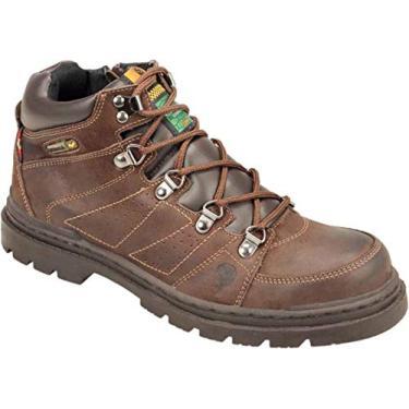 Coturno Masculino Albarus Boot-Speed (35, Brown)