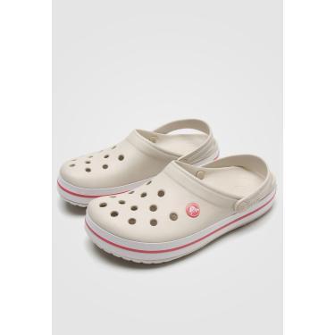 Sandália Crocs Tag Bege Crocs X11016-1AS feminino