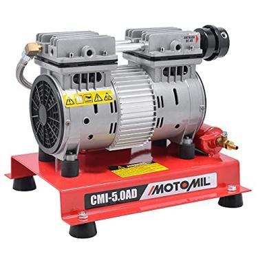 Compressor de Ar Direto 5 Pés 50 Litros Monofásico 4 Polos Isento de Óleo-MOTOMIL-CMI50/AD