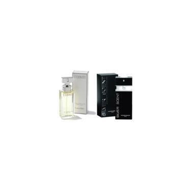 Imagem de Perfume Calvin Klein Eternity Feminino 100ml + Perfume Silver Scent Jacques Bogart Masculino 100ml