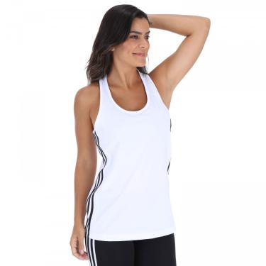 Camiseta Regata adidas Design To Move D2M 3-Stripes Tank - Feminina adidas Feminino