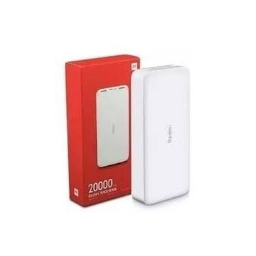 Carregador Portátil Power Bank Xiaomi USB/C e Micro USB 20000 mah