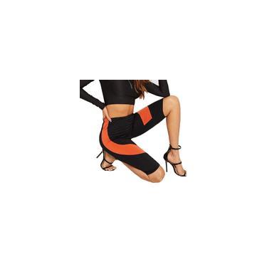 Moda feminina Leggings High Stretch Calças Fitness Calças de Ciclismo