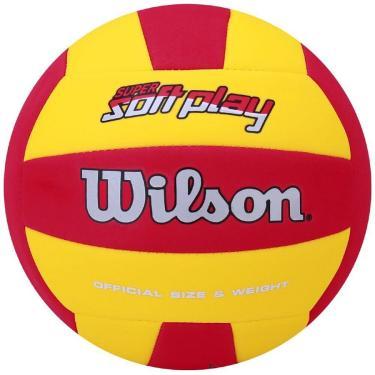 2579a45d8c3c7 Bola de Vôlei Super Soft Play - Wilson