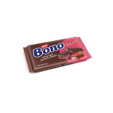 Biscoito Wafer Bono Chocolate Sensação Pacote 110 G