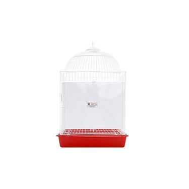 Gaiola para Calopsita Capitólio Vermelha Monaco