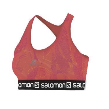 Top Impact Graphic Bra Ii W Coral Salomon P