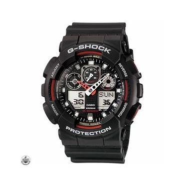 4f878801c94 Relógio Casio G-Shock Anadigi Masculino GA-100-1A4DR