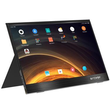 Imagem de BlitzWolf® BW-PCM4 15,6 polegadas UHD 4K Type C Monitor de computador portátil Tela de exibição de jogos para smartphone Banggood