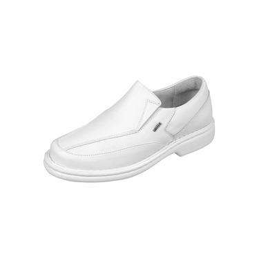 Imagem de Sapato Linha Conforto Semi Ortopédico Indicado P Diabéticos 570 Branco