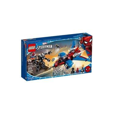 Lego Marvel 76150 Spiderjet Vs Venom Mech 371 Peças