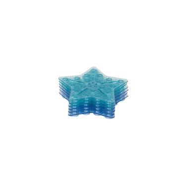 Imagem de Tapete De Banho Antiderrapante Mini 6 Peças Azul - Kababy