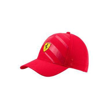 Boné Puma Baseball Ferrari F1 Fanwear Tech Vermelho 02152001 980af14a5ea
