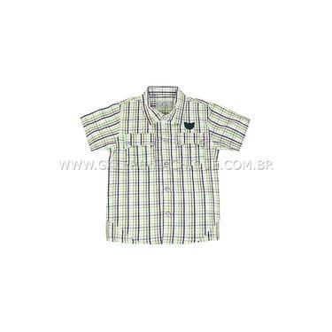 Camisa Xadrez Tigor Baby-Tamanho