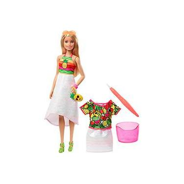 Barbie Crayola Surpresa de Frutas Gbk18 - Mattel