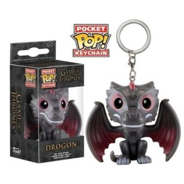 Drogon Game of Thrones Pocket Pop Keychain NC Games