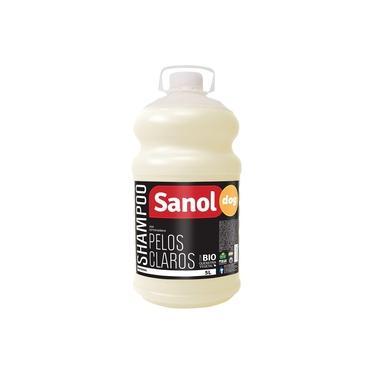 Shampoo Pelo Claros Sanol Dog para Cães e Gatos (5 litros) - Total Química