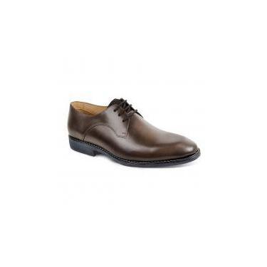 Sapato social masculino derby sandro moscoloni vicenzo marrom caramel -