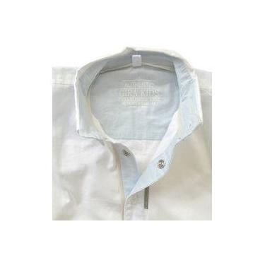 Camisa Alfaiataria Off White e Calça Caqui