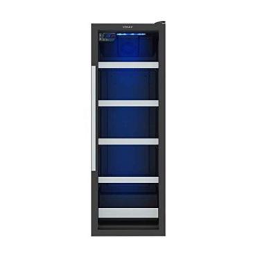 Cervejeira Venax Blue Light EXPVQ 200 Litros Preto Fosco Cervejeira Venax Blue Light EXPVQ 200L 110V