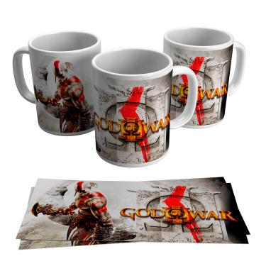 Caneca God of War Gamer Jogo Video Game Ps4