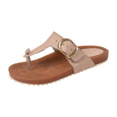 Sandália Raniel Calçados Birken Taupe  menina