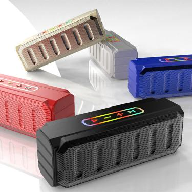 Bakeey S813 2020 Novo alto-falante bluetooth para exterior sem fio portátil cartão subwoofer Mini alto-falante de áudio Banggood