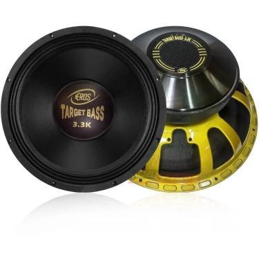 Alto Falante Eros Target Bass 3.3K 1650W Rms 15'' 8 Ohms